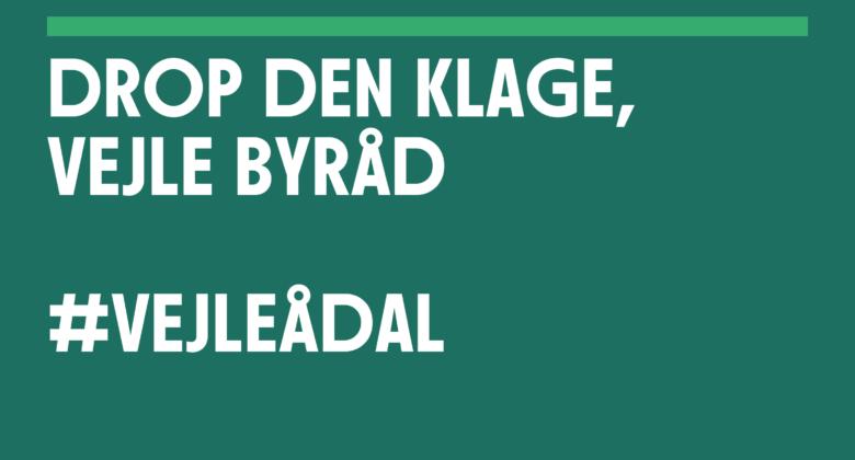 Læserbrev om Vejle byråds klage over fredning af Vejle Ådal